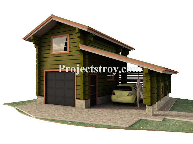 Зарегистрировать построенный гараж