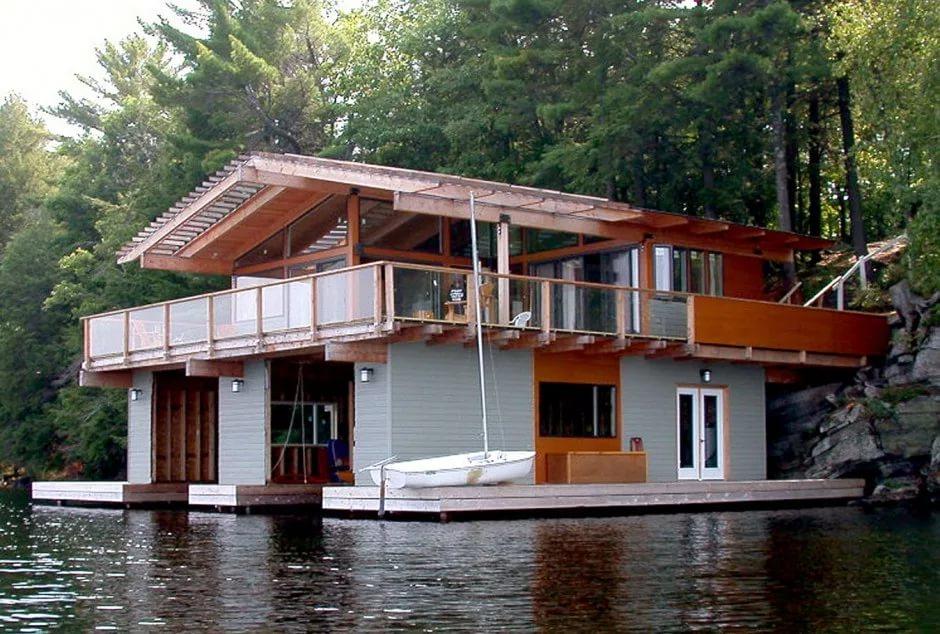 Утепляем дом для лодки