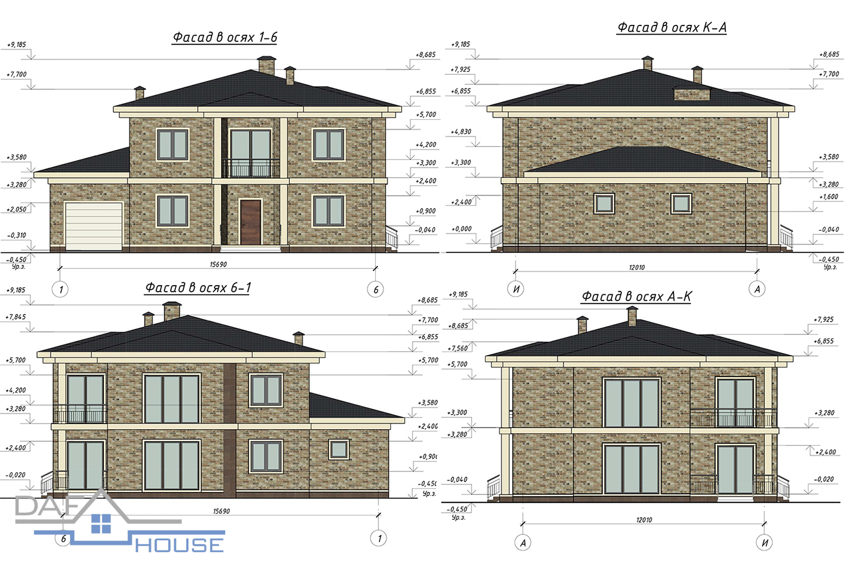Проект С5106 фасад
