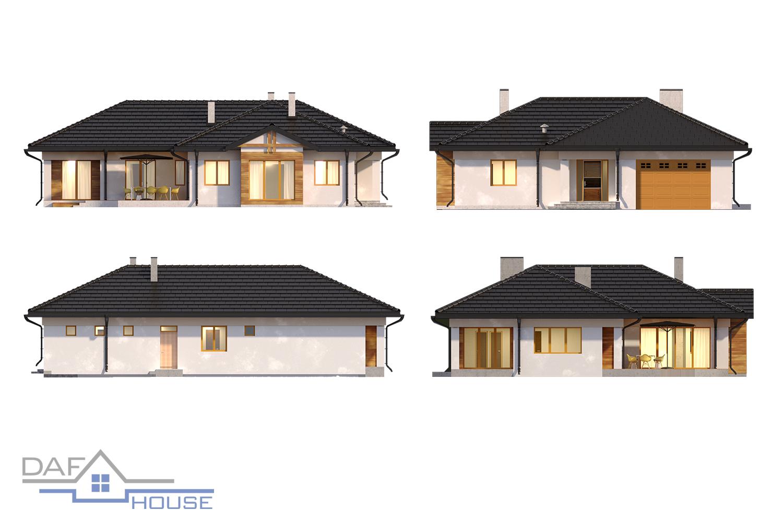 Проект А5165 фасад