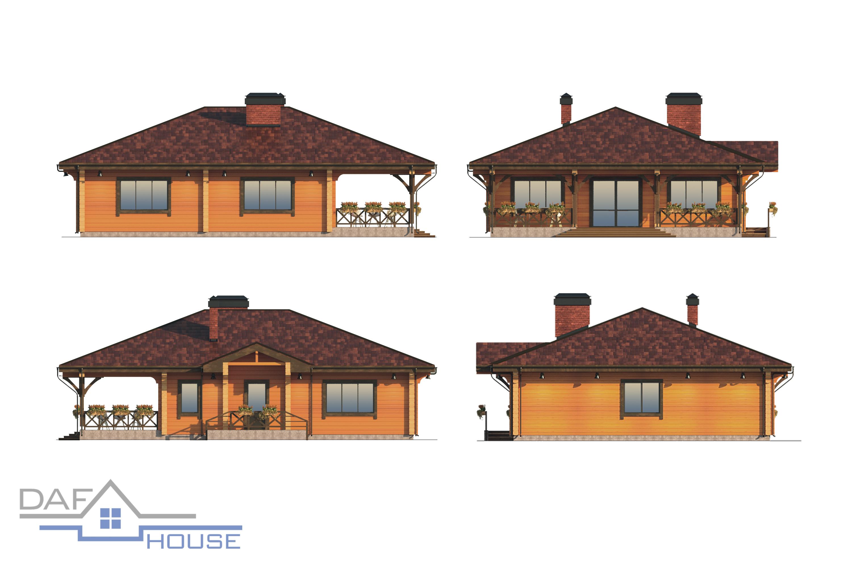 Проект А5184 фасад