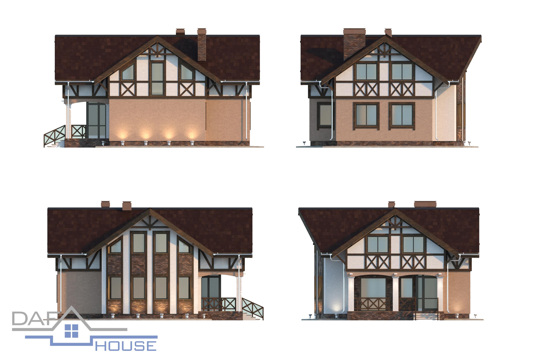 Проект В5174 фасад