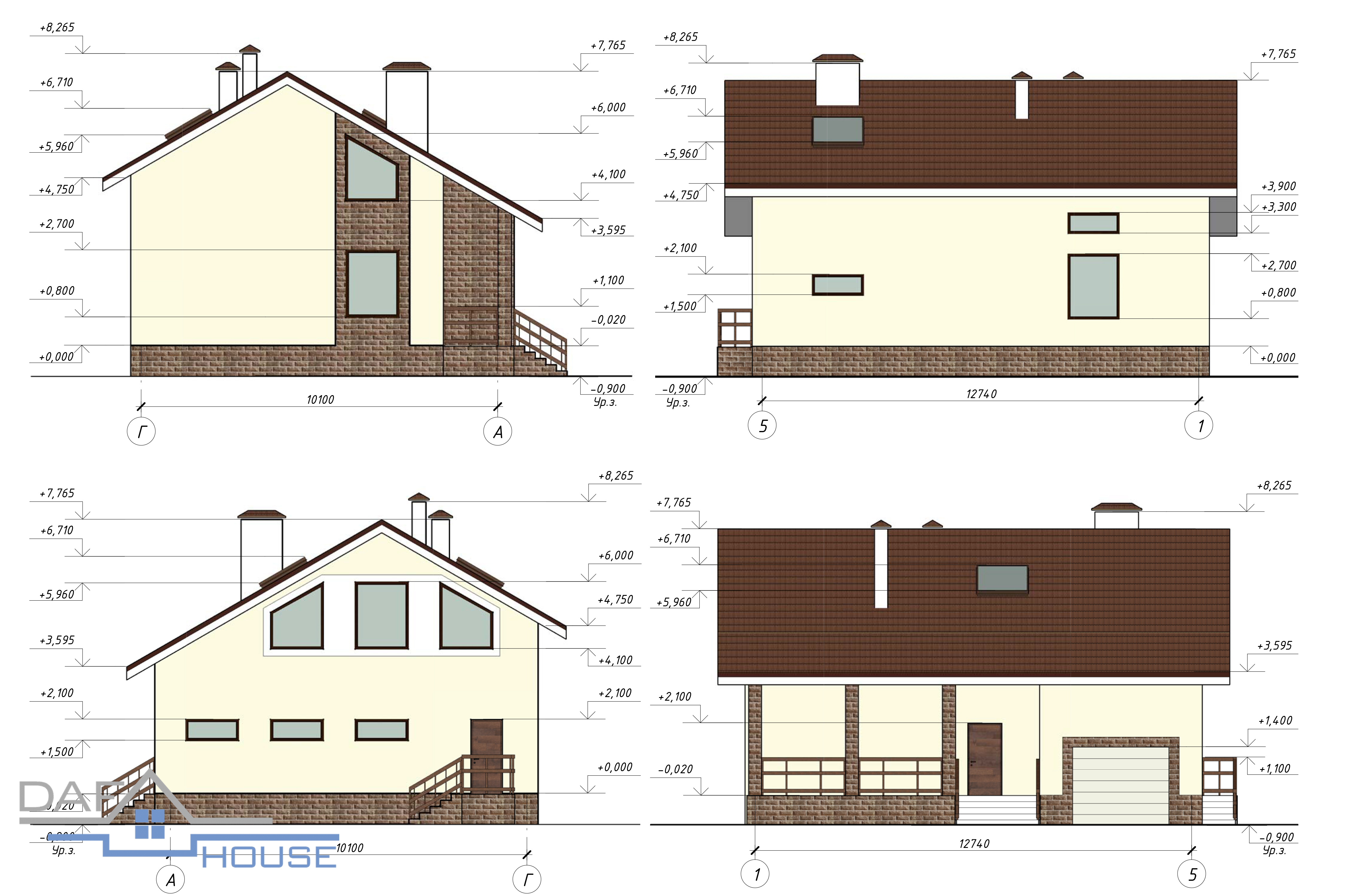 Проект В5134 фасад