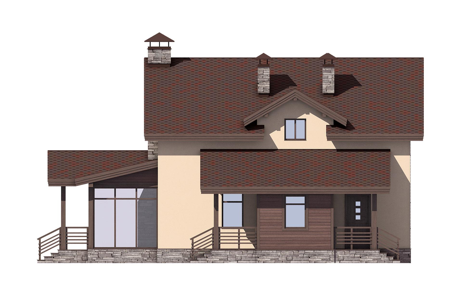 Проект AV322 фасад