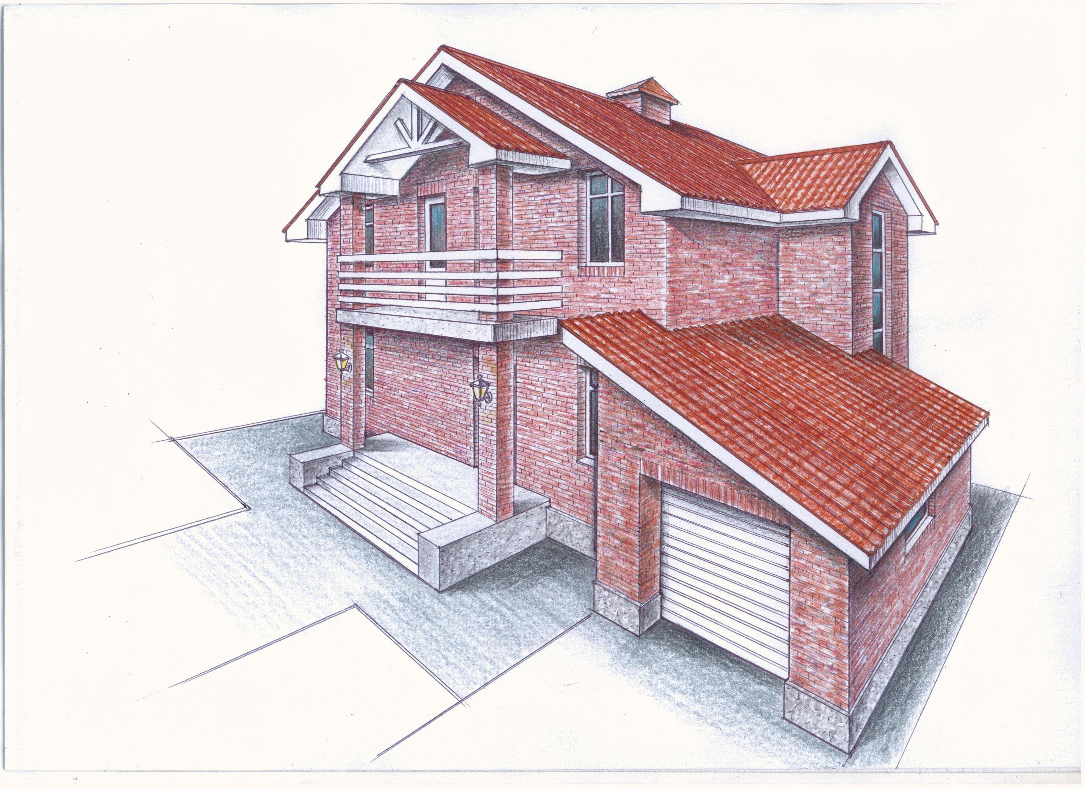 """Проект """"Иж-323"""" фасад"""