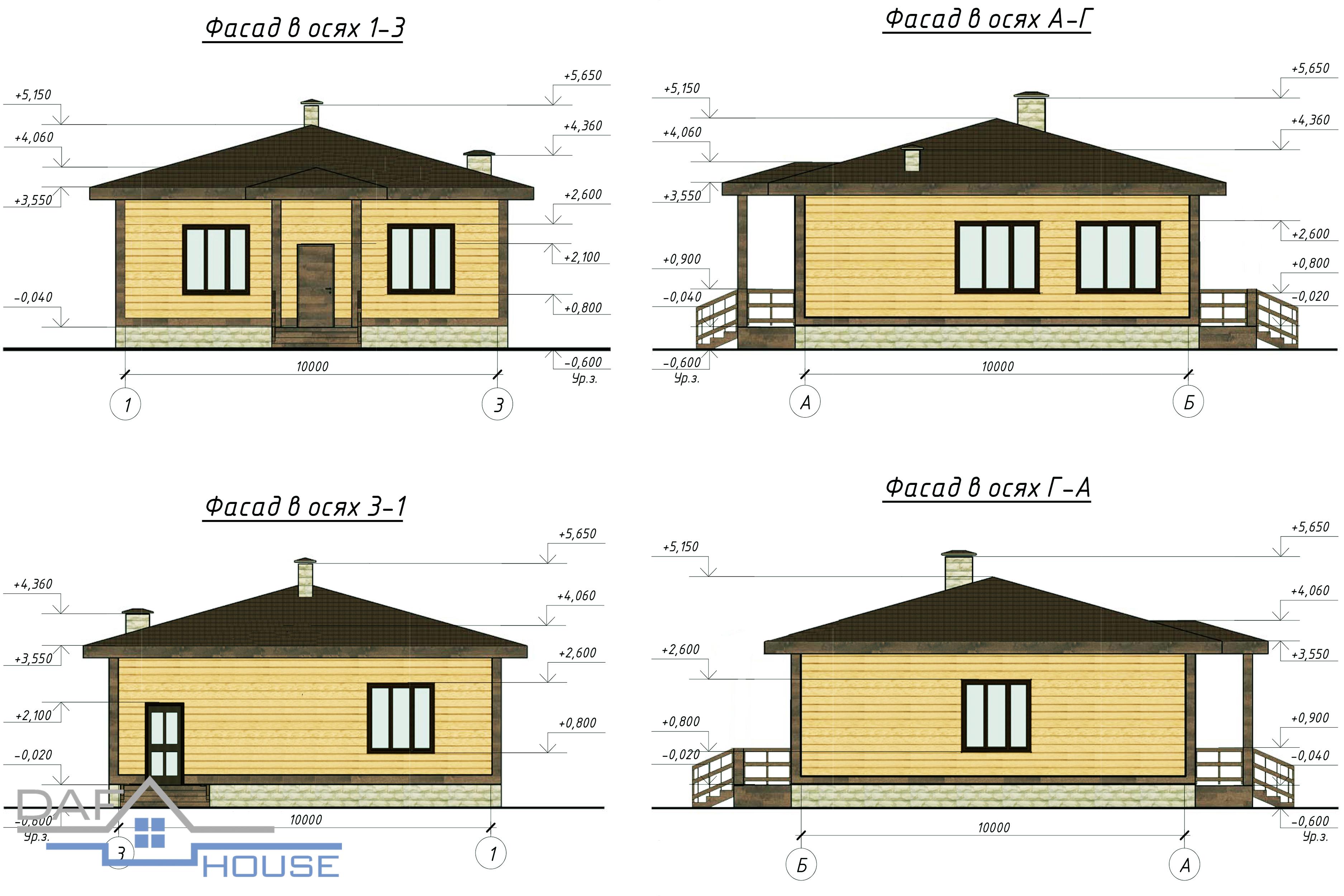 Проект А5212а фасад