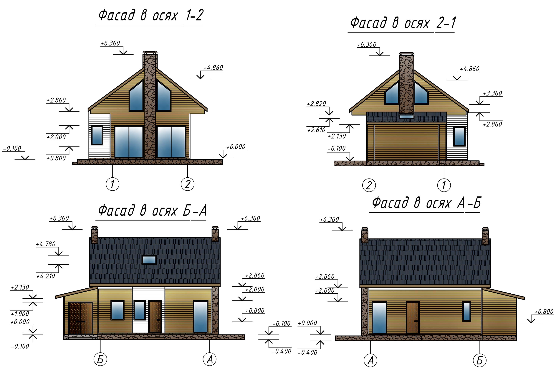Проект В3352 фасад