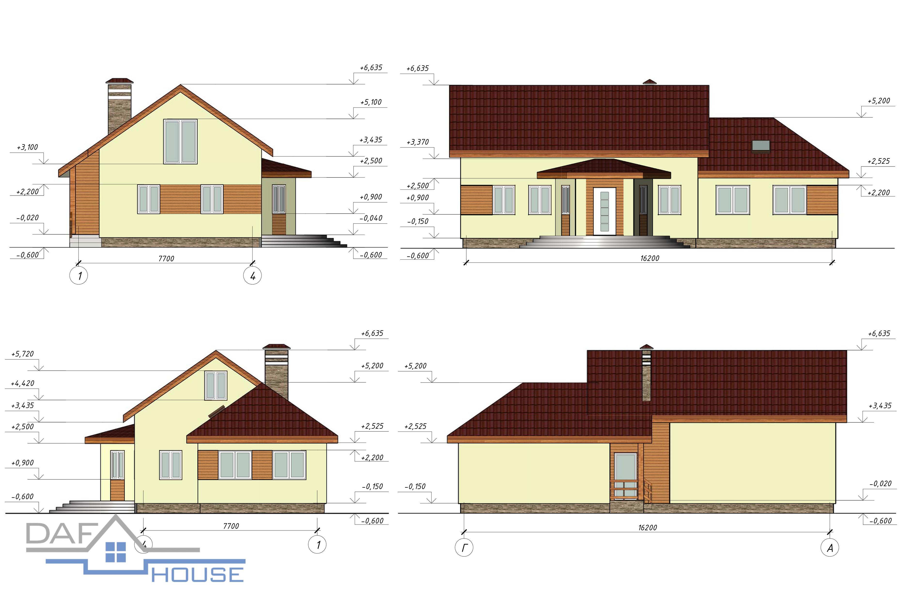 Проект В5073 фасад