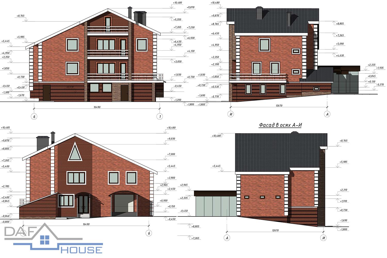 Проект С5487 фасад