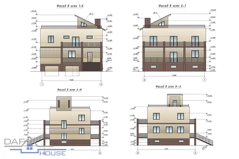 Проект С2075 фасад
