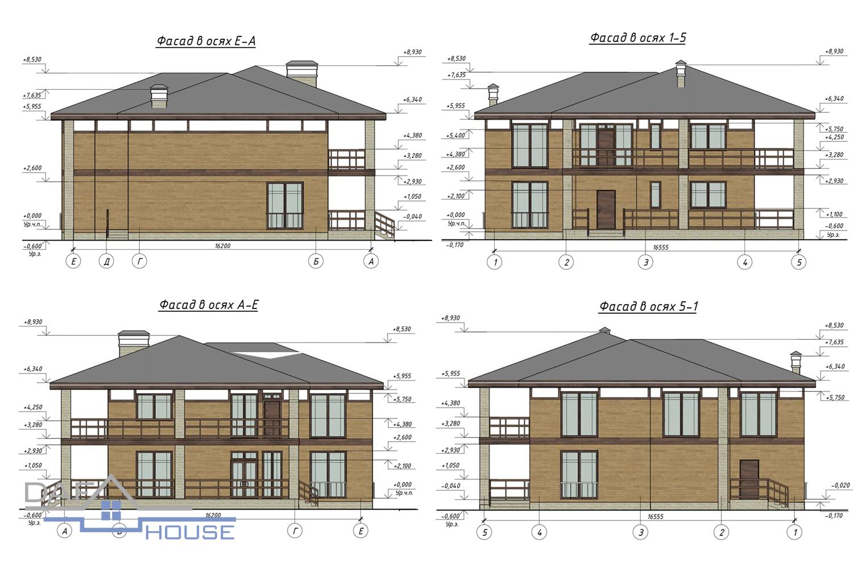 Проект С2737 фасад
