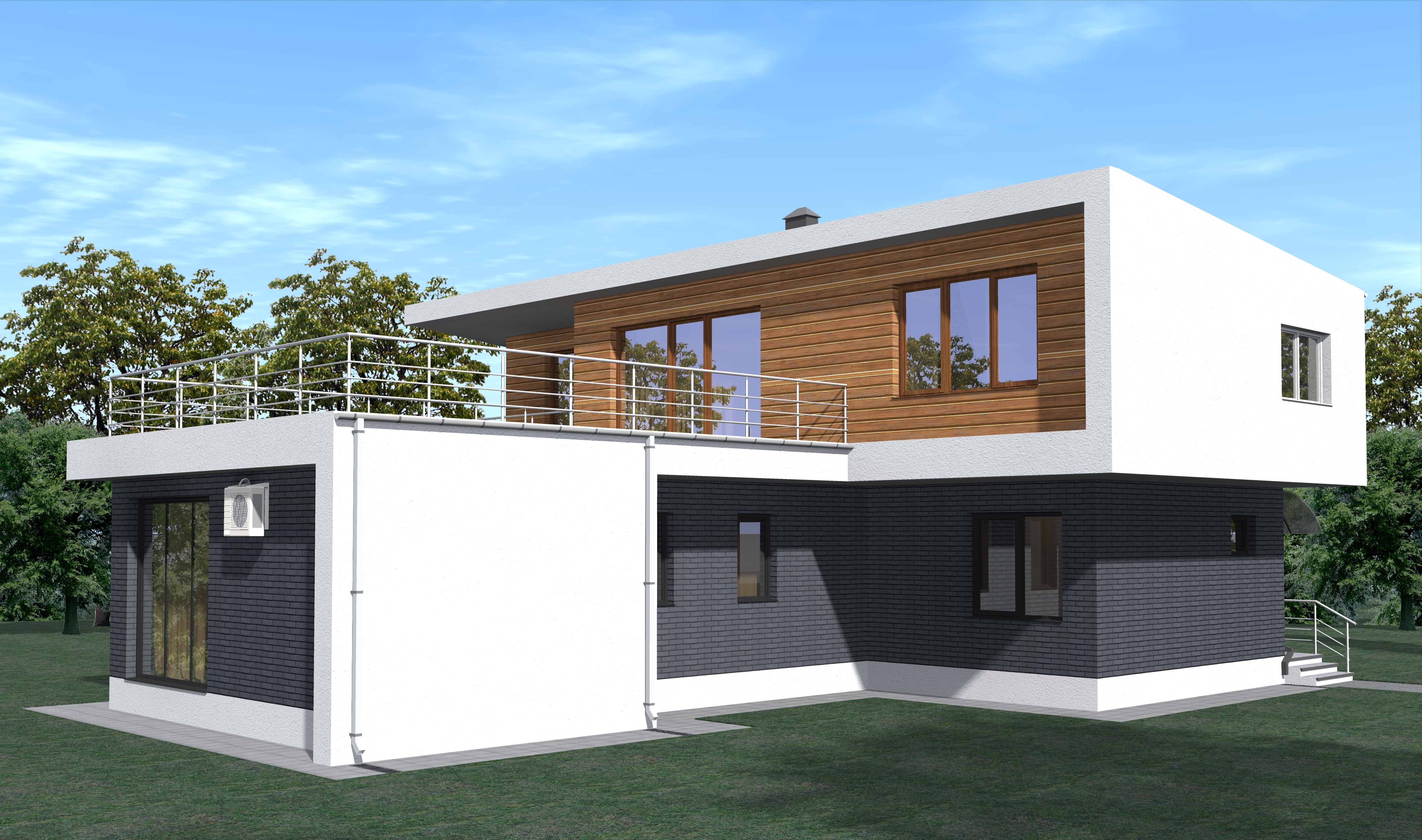 Проект 11.17 фасад