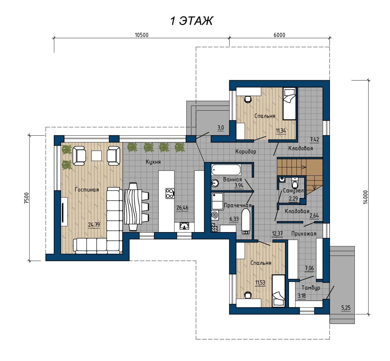 Проект 11.17 план