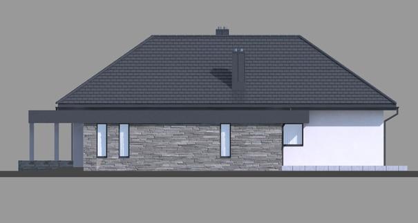 Проект дома 4m704 фасад