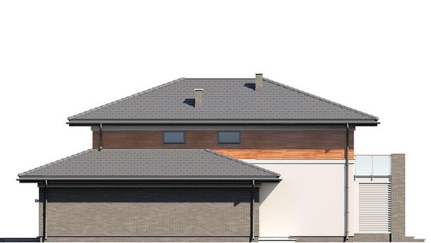 Проект дома 4m756 фасад