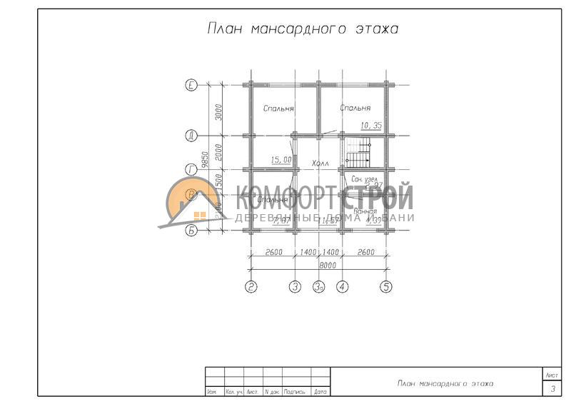 Дом 115.26 м 2 9.85 х 10.5 по проекту ДУБНА план