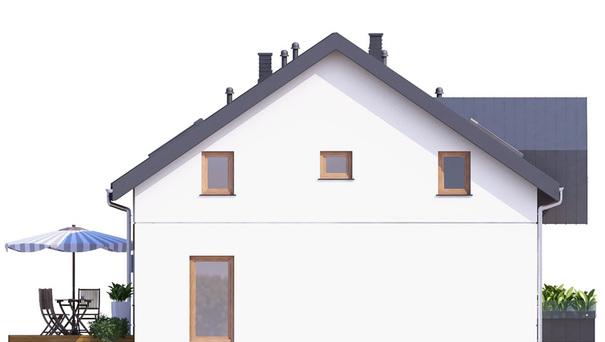 Проект дома 4m734 фасад