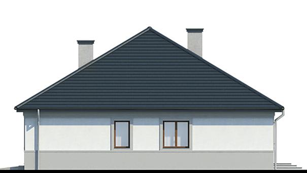 Проект дома 4m796 фасад