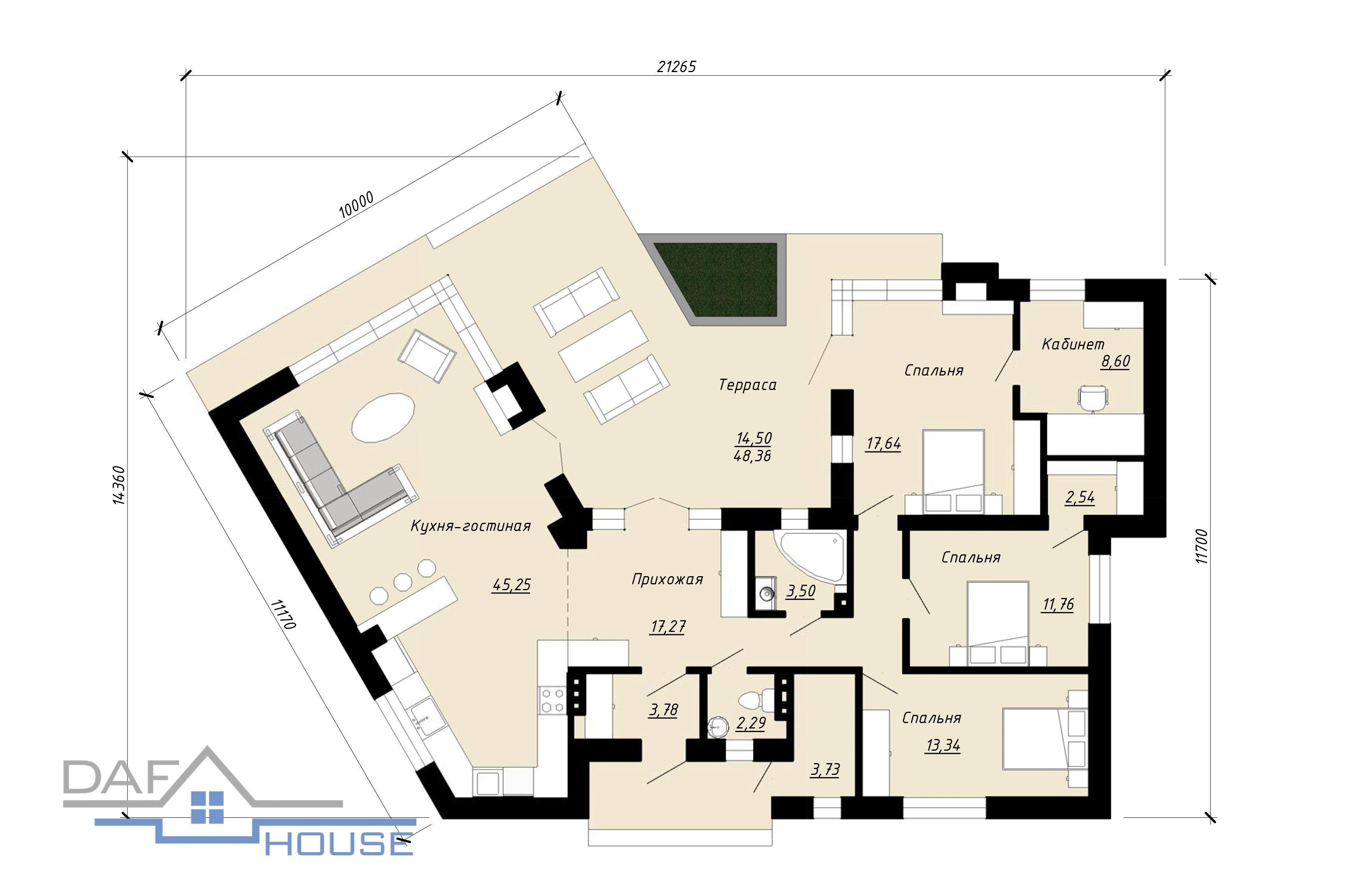 Проект А3073 план