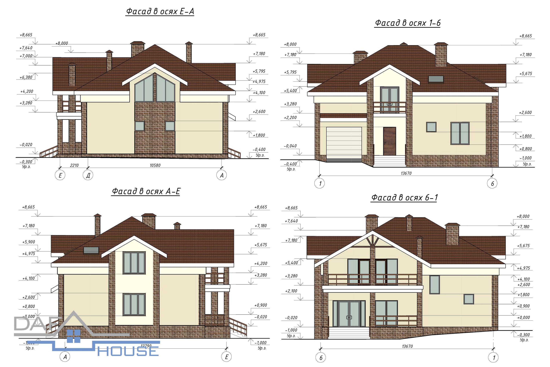 Проект В5106 фасад