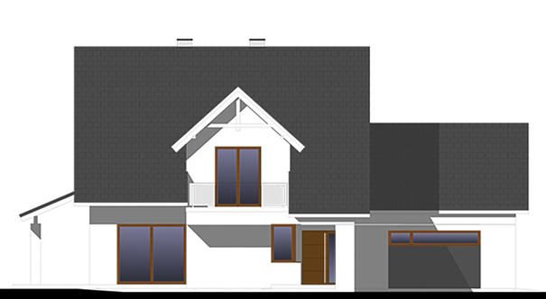 Проект дома 4m748 фасад