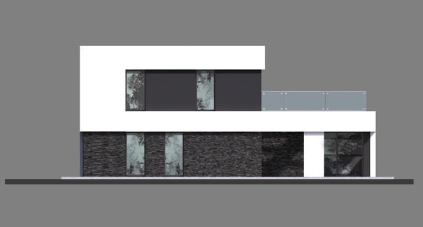 Проект дома 4m714 фасад