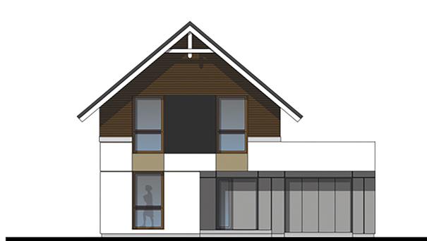 Проект дома 4m771 фасад