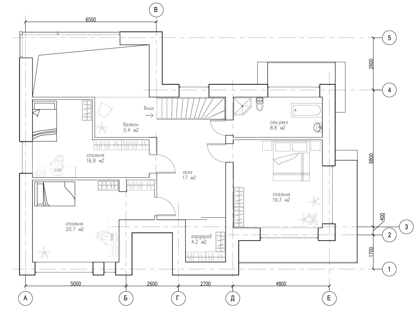 Современный дом с комфортом план