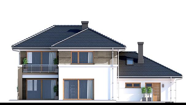 Проект дома 4m770 фасад