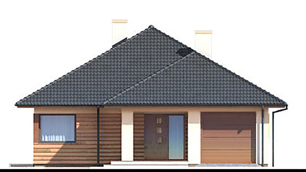 Проект дома 4m895 фасад