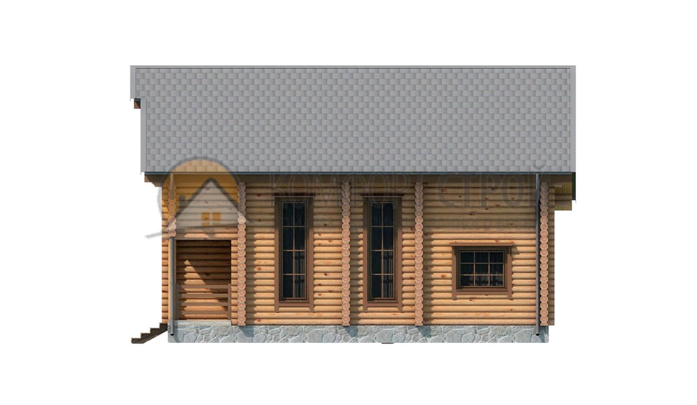 Дом 163.8 м2 10.7х11 по проекту КЛИМОВСК фасад