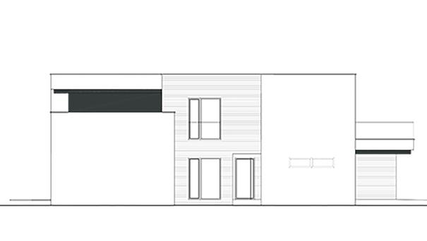 Проект дома 4m425 фасад