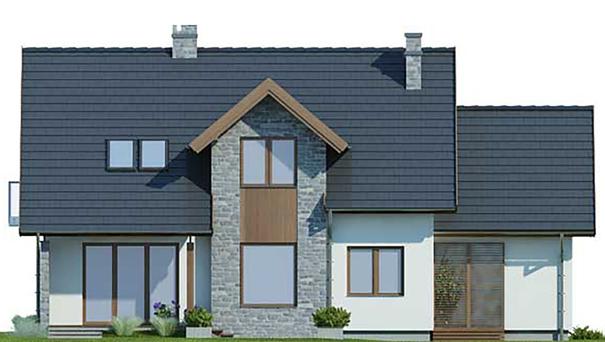 Проект дома 4m435 фасад