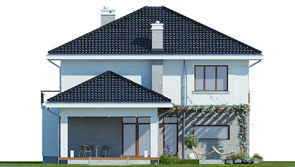 Проект дома 4m515 фасад