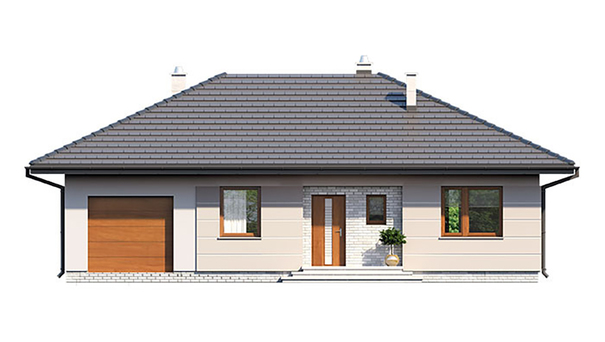 Проект дома 4m533 фасад