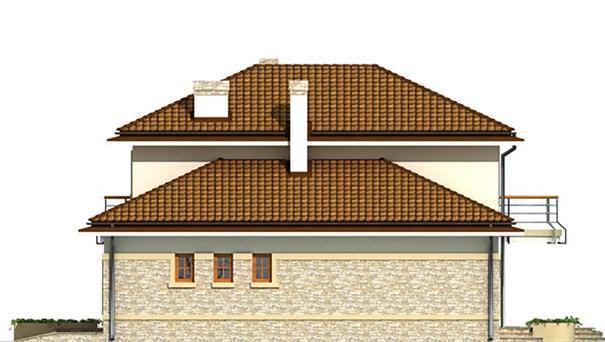 Проект дома 4m497 фасад