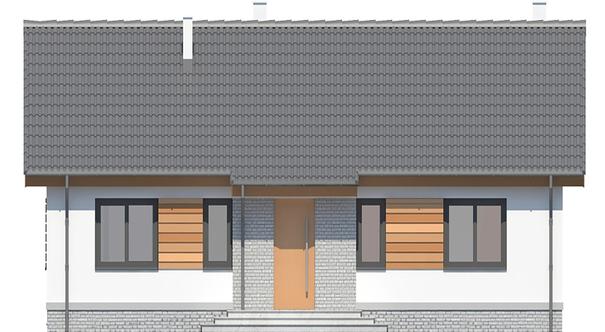 Проект дома 4m742 фасад