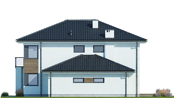 Проект дома 4m499 фасад