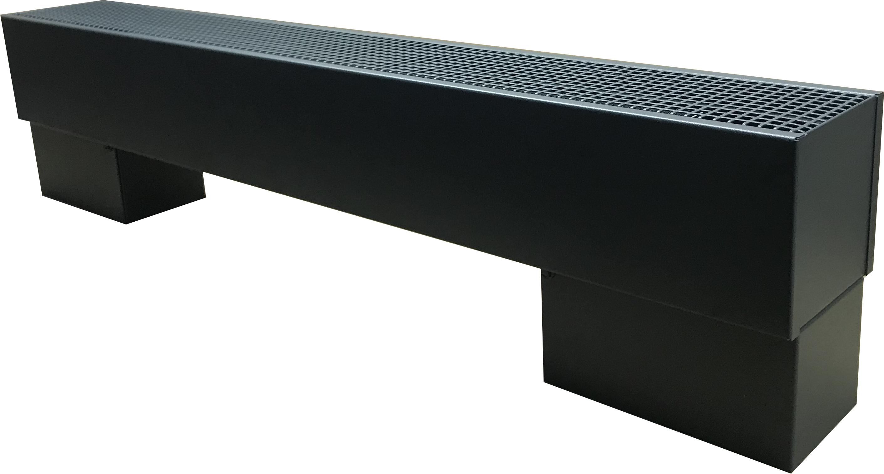 Новый дизайн напольного конвектора Techno Vita