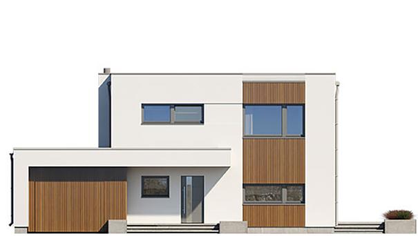 Проект дома 4m758 фасад