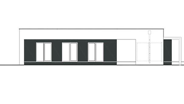 Проект дома 4m427 фасад