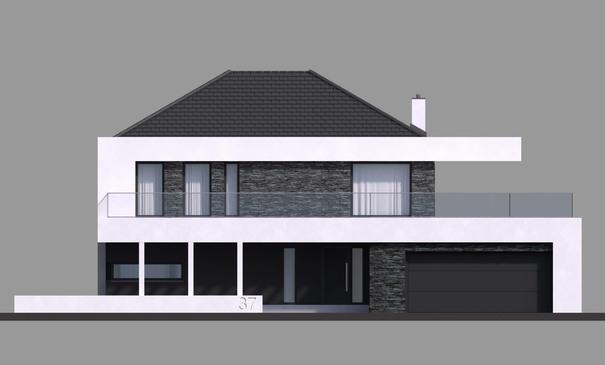 Проект дома 4m703 фасад
