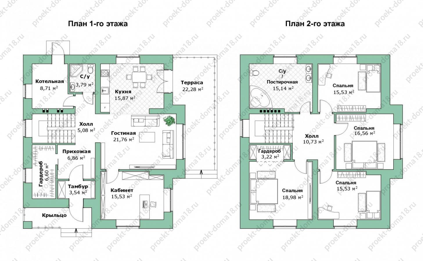 Проект дома Н-09-23 план
