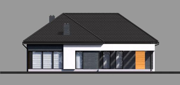 Проект дома 4m719 фасад