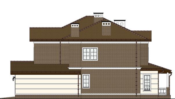 Проект дома 4m549 фасад