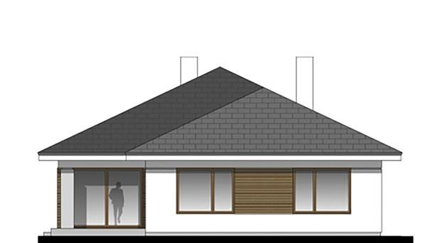 Проект дома 4m755 фасад