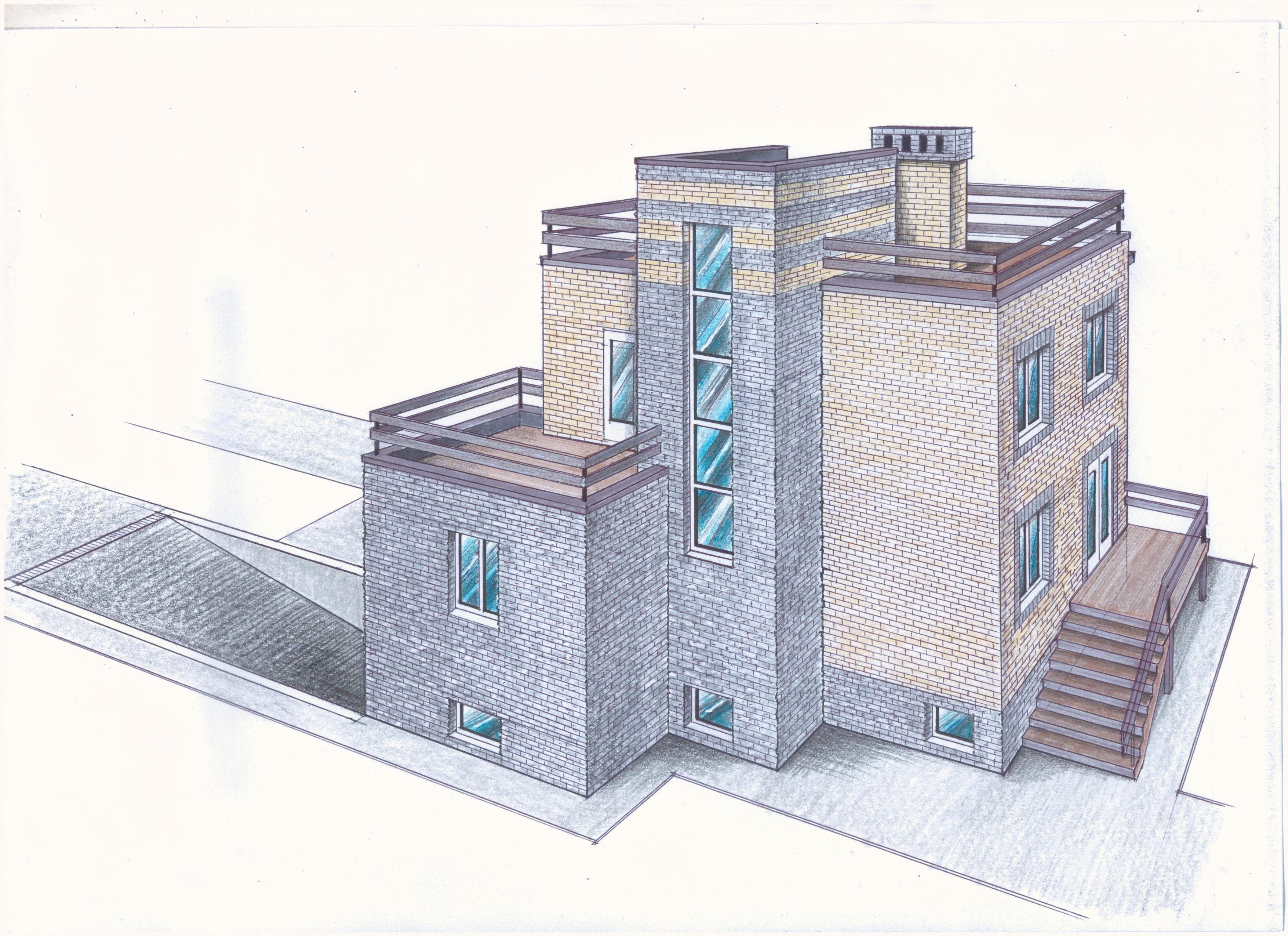 """Проект """"Иж-342"""" фасад"""