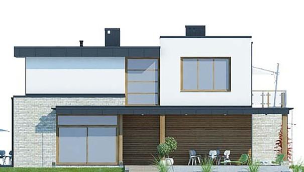 Проект дома 4m784 фасад
