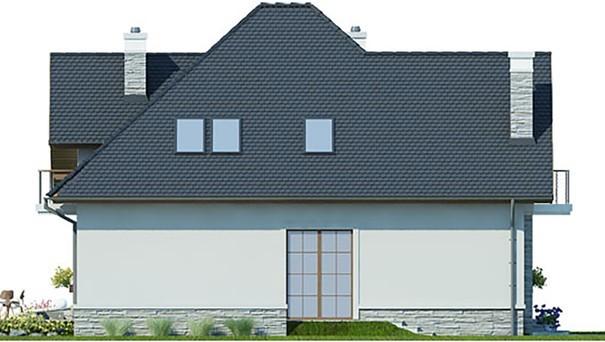 Проект дома 4m391 фасад