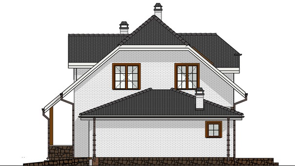 Проект дома 4m553 фасад